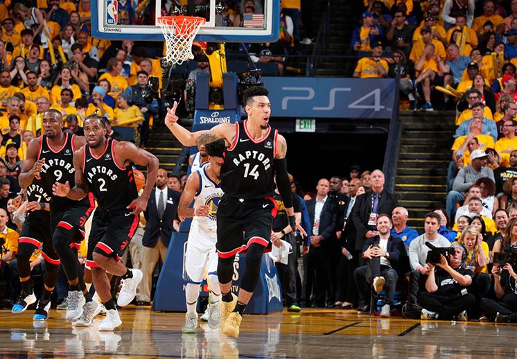 Los Raptors retoman el mando en las Finales de la NBA