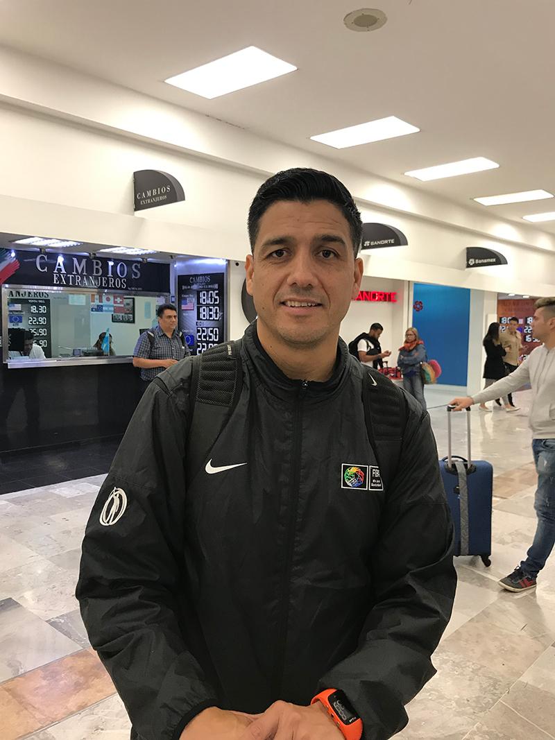 Krishna Domínguez pone en alto al arbitraje mexicano