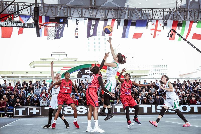 Las mexicanas se meten a los cuartos de final en el 3x3 U18