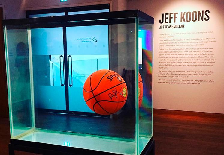 El basquet hecho arte de visita en la CDMX