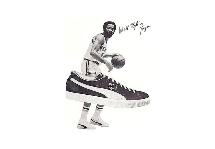 """Walt """"Clyde"""" Frazier, un pionero en los tenis de basquet"""