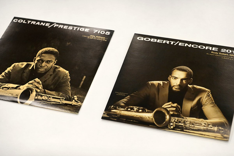 El disco de jazz de Rudy Gobert