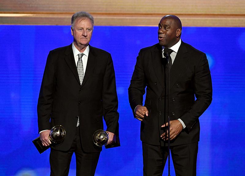 Larry y Magic, el premio a una rivalidad que los hizo grandes