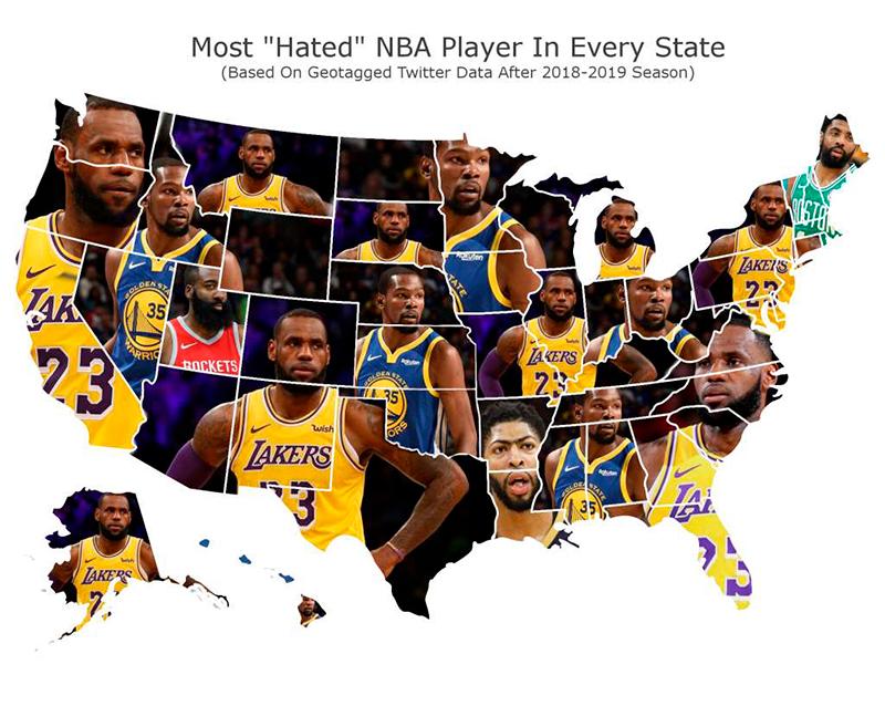Los jugadores más odiados de la NBA