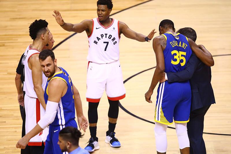 Las reacciones al juego 5 de las Finales de la NBA