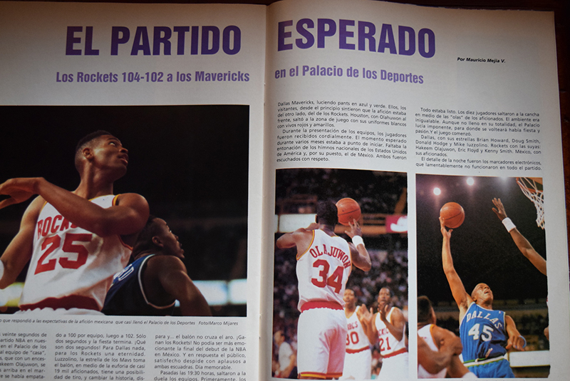 #TBTVB El partido esperado, exitoso debut de la NBA en México