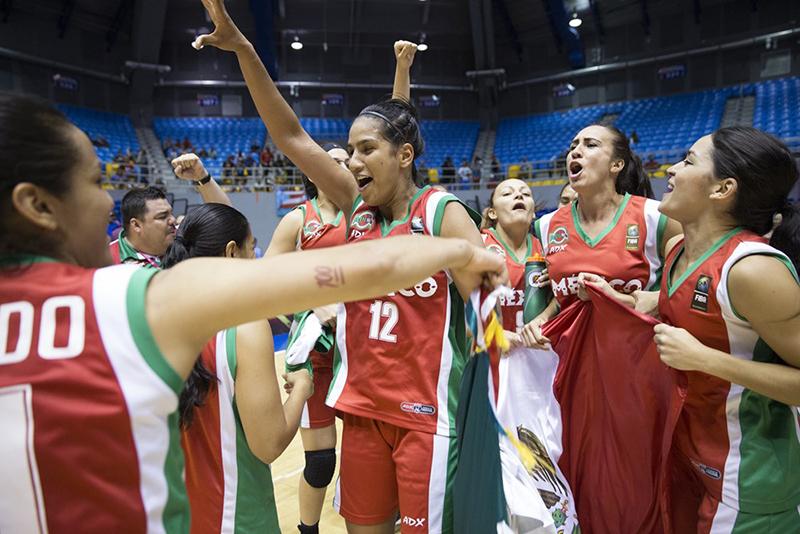 Las rivales de México para el AmeriCup Femenil