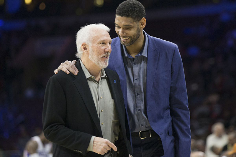 Tim Duncan de vuelta con los Spurs