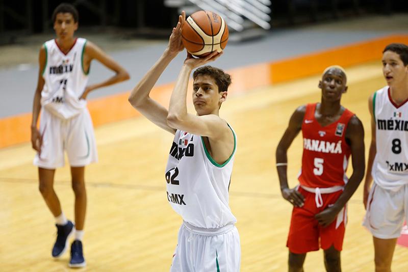 Paso perfecto para México U17 en el Centrobasket