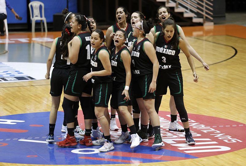 México a un paso de la Final del Centrobasket femenil U17