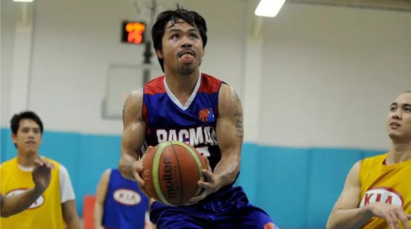 Manny Pacquiao y su pasión por el basquetbol