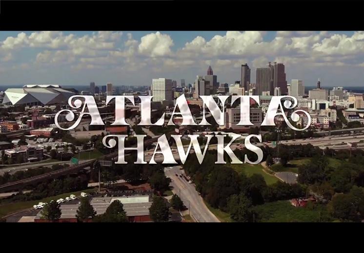 La creativa presentación del calendario de los Hawks de Atlanta