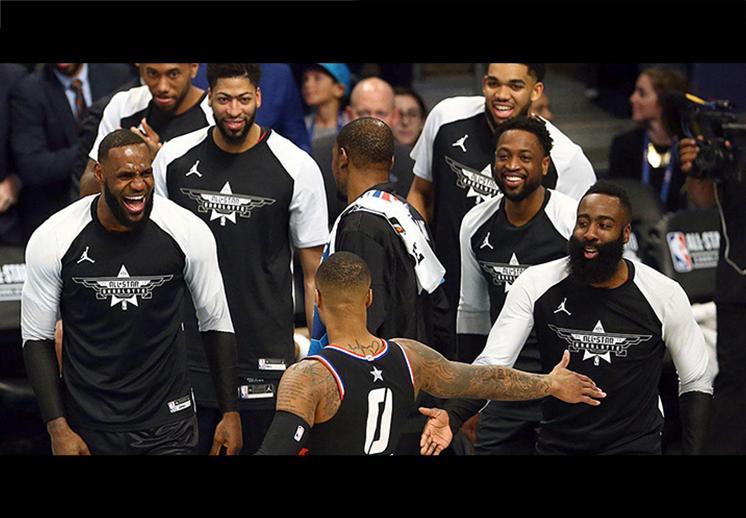 Los mejores jugadores de la década en la NBA
