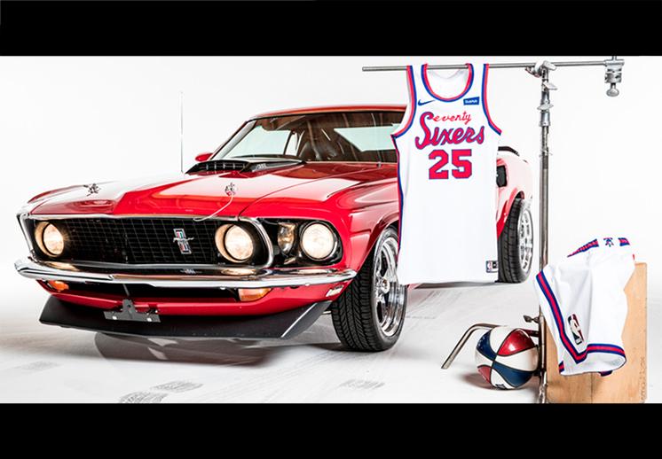 Los nuevos uniformes de los 76ers de Filadelfia